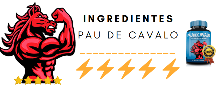 Formula Pau de cavalo preco do capsulas ingredientes